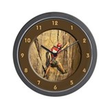 Rock Climbing II Wall Clock