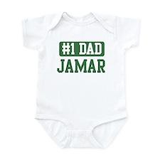 Number 1 Dad - Jamar Infant Bodysuit