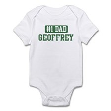Number 1 Dad - Geoffrey Infant Bodysuit