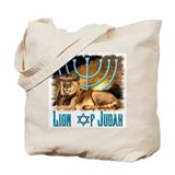 Lion of Judah 3 Tote Bag