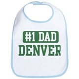 Number 1 Dad - Denver Bib