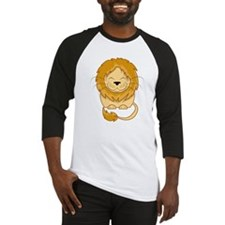Cuddly Lion Baseball Jersey
