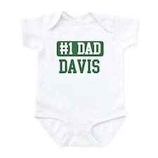 Number 1 Dad - Davis Infant Bodysuit