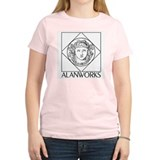 The ALAN Women's Pink T-Shirt