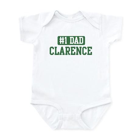 Number 1 Dad - Clarence Infant Bodysuit