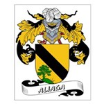 Aliaga Coat of Arms Small Poster