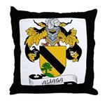 Aliaga Coat of Arms Throw Pillow