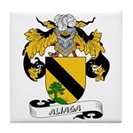 Aliaga Coat of Arms Tile Coaster