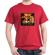 Lion of Judah 4 Black T-Shirt