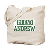 Number 1 Dad - Andrew Tote Bag