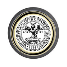 Tennessee State Seal Wall Clock