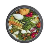 Vegies Wall Clock