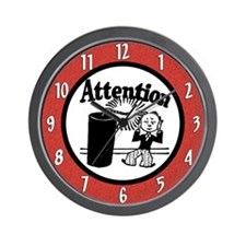 Attention Grabbing Wall Clock