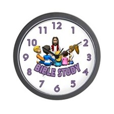 Bible Study Wall Clock