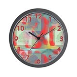 Rose Impressions Wall Clock