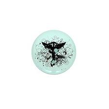 Grunge Chiropractic Mini Button