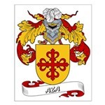 Aza Coat of Arms Small Poster