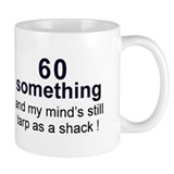 60 Something Small Mug