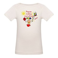 Papaw Fun Girl Tee