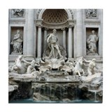 Trevi Fountain, Rome Italy Tile Coaster