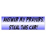 Steal This Car Bumper Sticker