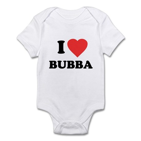 I Love Bubba Infant Bodysuit