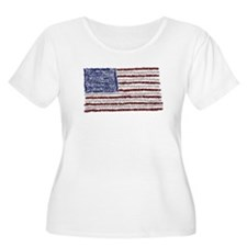 Glitter Flag T-Shirt