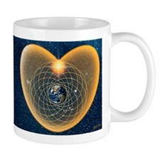 Amaru Maru's Heart Meditation Coffee Mug