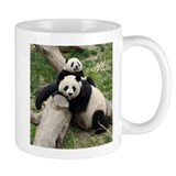 Mom & Baby Giant Pandas Small Mugs