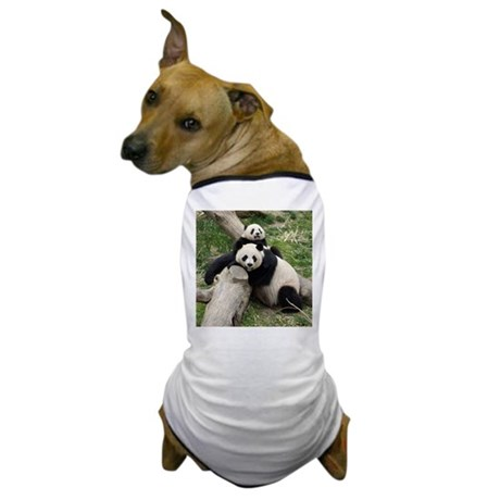 Mom &amp;amp; Baby Giant Pandas Dog T-Shirt