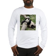 Mom & Baby Giant Pandas Long Sleeve T-Shirt