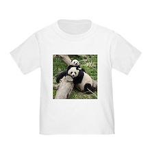 Mom & Baby Giant Pandas Toddler T-Shirt