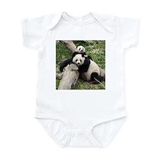 Mom & Baby Giant Pandas Infant Bodysuit