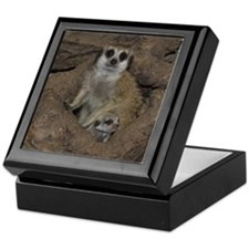 Meerkats Keepsake Box