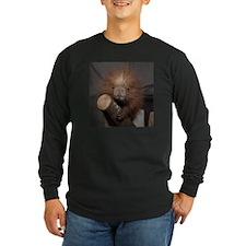 Porcupine Long Sleeve Dark T-Shirt