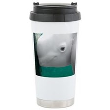 Beluga Watching Ceramic Travel Mug