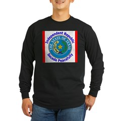 Texas-5 Long Sleeve Dark T-Shirt