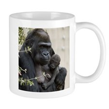 Mom and Baby Gorilla Mug