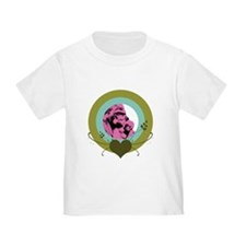 Mom and Baby Gorilla Toddler T-Shirt