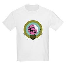 Mom and Baby Gorilla Kids Light T-Shirt