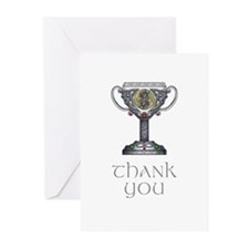 Celtic Thank You Greeting Cards (Pk of 20)