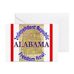 Alabama-3 Greeting Cards (Pk of 10)