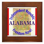 Alabama-3 Framed Tile