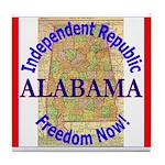 Alabama-3 Tile Coaster