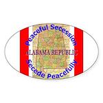 Alabama-1 Sticker (Oval)