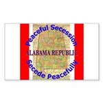 Alabama-1 Sticker (Rectangle)