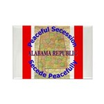 Alabama-1 Rectangle Magnet (10 pack)