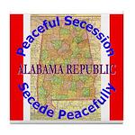 Alabama-1 Tile Coaster