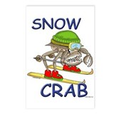 Snow Crab Postcards (Pkg of 8)