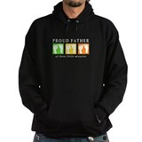 Proud Father of Three Miracles Hoodie